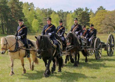 022 Häst anspänt artilleri